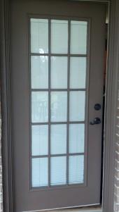 Completed door